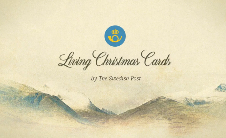 Living Christmas Cards